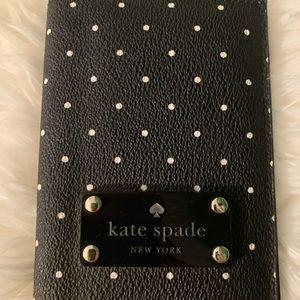 Kate Spade Passport Holder (polka dots)